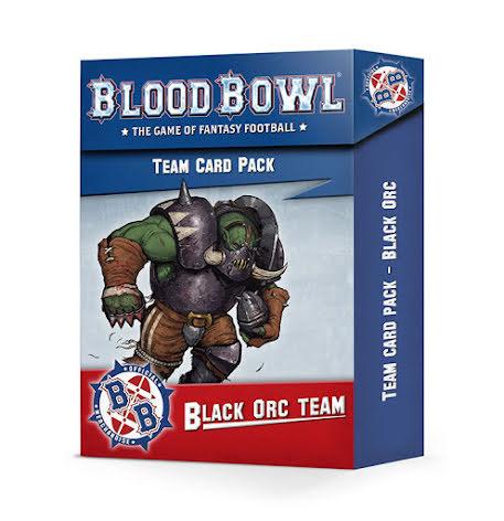 BLOOD BOWL: BLACK ORC TEAM CARD PACK (ENG)