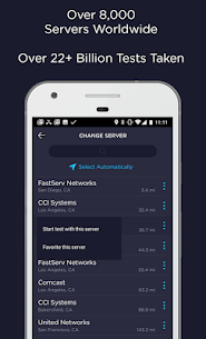 Speedtest by Ookla Mod Apk 4.5.25 [Premium Features Unlocked] 3