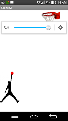 The basketball app