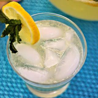 Sparkling Mint Lemonade.