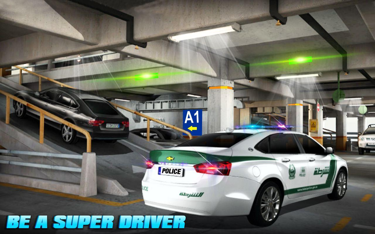 Play Police Car Parking Games