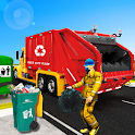 US City Garbage Cleaner: Trash Truck 2019 icon