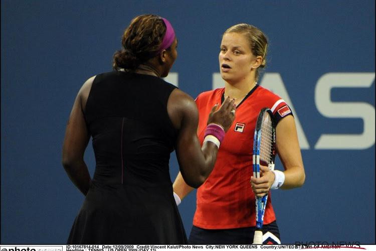 Kim Clijsters ziet Roger Federer met haar record aan de haal gaan