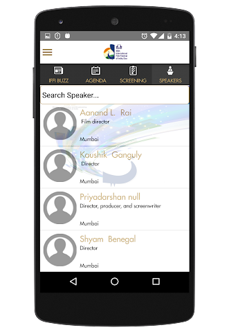 android IFFI GOA Screenshot 6