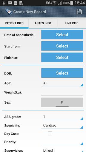 Anaesthesia Logbook-Log4AS screenshots 1
