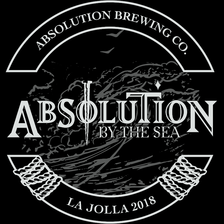 Logo for Absolution By The Sea- La Jolla