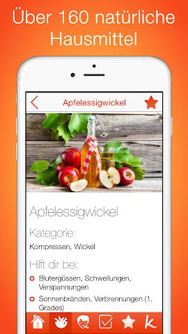 android Natürliche Hausmittel Screenshot 0