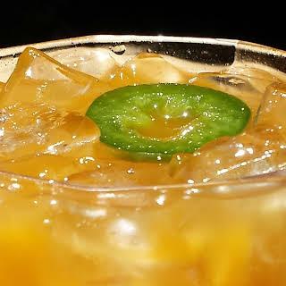 Spicy Apricot Margarita.