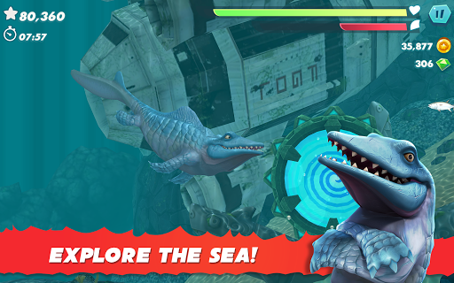 Hungry Shark Evolution apktram screenshots 18