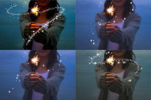 Photo Glitter Light effect ss3