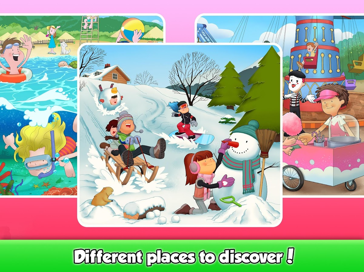 Look & Find: Fun Activities!- screenshot