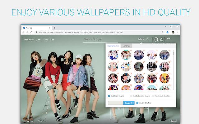 Kpop Twice Wallpapers New Tab Freeaddon Com