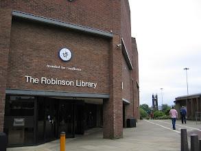 Photo: The Robinson Library