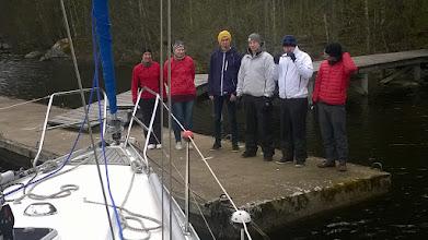 Photo: Grillaustuokio takana ja lähdetään purjehtimaan Pohjoiseen.
