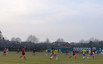 Photo: 09/04/13 v Ladybridge (West Lancashire League Division 2) 2-1 - contributed by Mike Latham