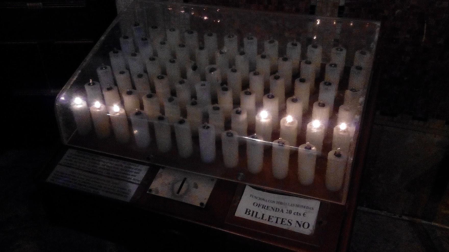 Электрификация свечек