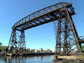 Photo: The Transport Bridge in La Boca
