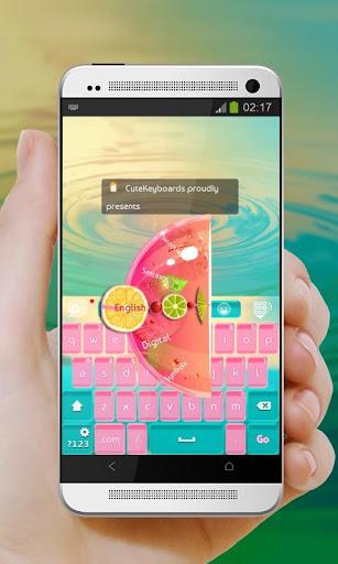 熱帯の楽園 GO Keyboard