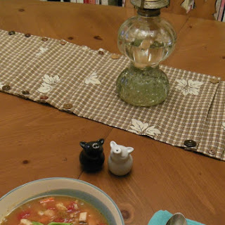Terrific Turkey Soup with Lima Beans and Barley.