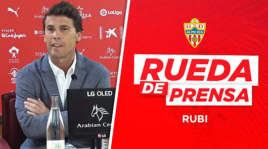 Sigue en directo la rueda de prensa de Rubi