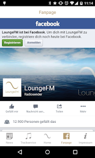 LoungeFM- screenshot thumbnail