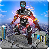 Panther Superhero: City Avenger Hero vs Crime City