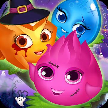Pets Halloween Match 3
