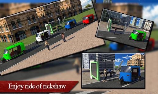 Auto Rickshaw Driver Simulator - náhled