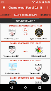 UJS Toulouse Futsal- screenshot thumbnail
