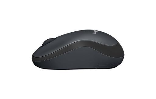 Chuột máy tính Logitech M221 không dây (Xám đen)-4