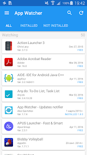App Watcher - Updates notifier- screenshot thumbnail