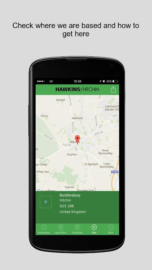 Hawkins Of Hitchin- screenshot