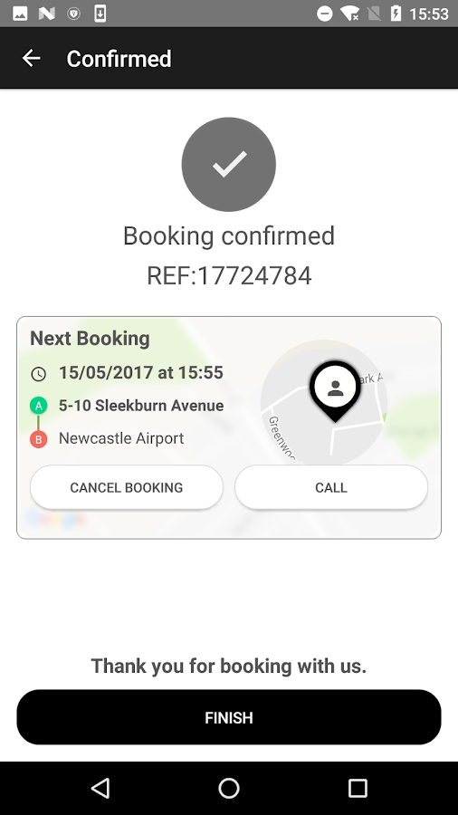 Phoenix Taxis- screenshot