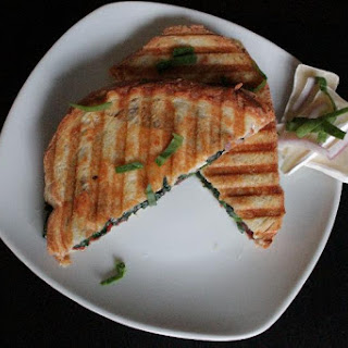 Grilled Brie & Bacon Paninis.