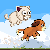 Dog & Cat Runner Game Free
