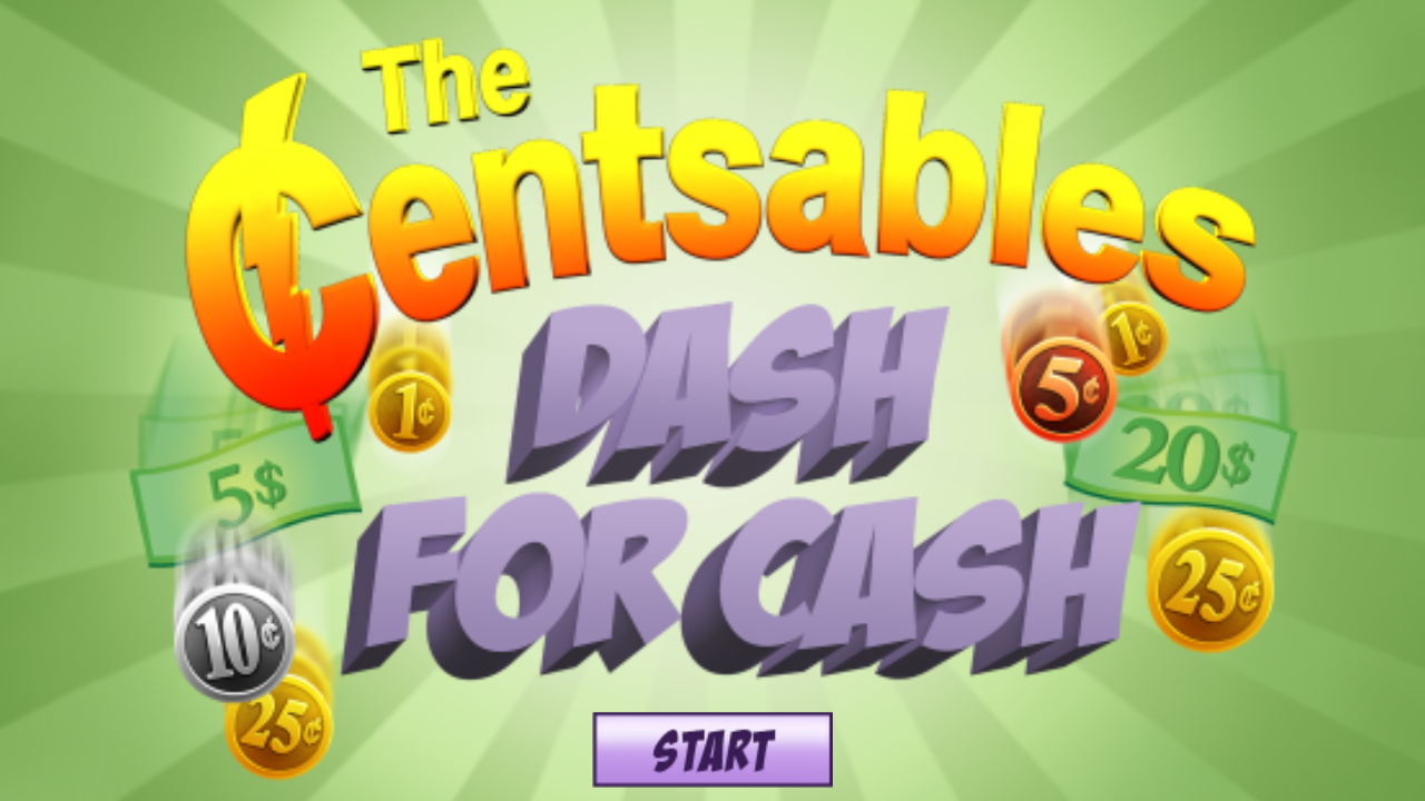 The Centsables Dash For Cash- screenshot