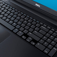 Photo: New Dell Inspiron 15 (detailed keyboard shot). More details here: http://bit.ly/inspironrces2013