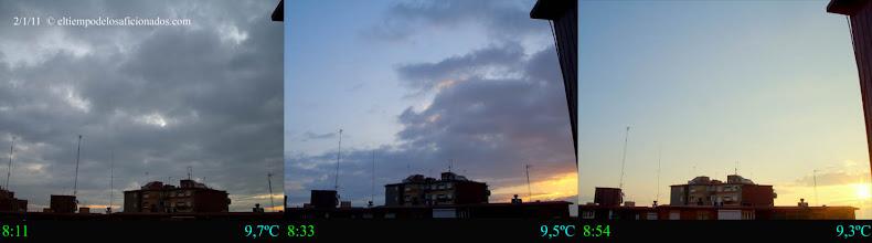 Photo: Amanecer del 2/01/2011