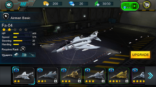 Sky War: Aircraft cheat screenshots 1