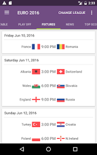 FotMob - Euro 2016 Scores Screenshot 7