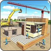 Modern House Construction 3D Android APK Download Free By Sablo Games