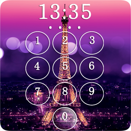 Paris Eiffel Tower Lock Screen Applications Sur Google Play