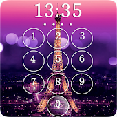 Paris Eiffel Tower Lock Screen