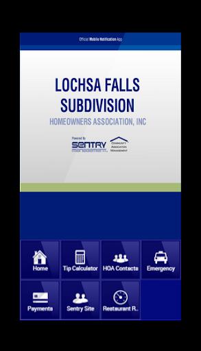 Lochsa Falls Subdivision HOA