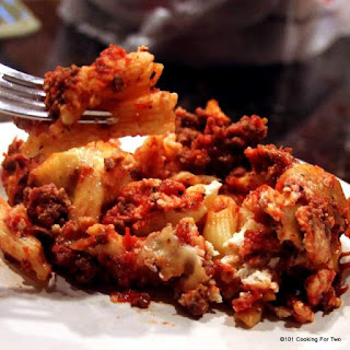 "Crock Pot ""Baked"" Ziti."