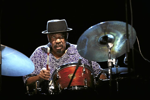 Rebel rhythms: Drummer Tebogo Moholo-Moholo is the only original member of the Blue Notes still alive and working. Picture: SUPPLIED