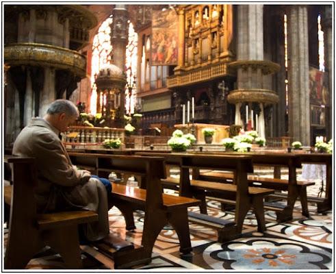 In preghiera... di Pierluigi Terzoli