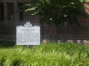 Photo: there are 17 registered historical landmarks on the Fisk campus