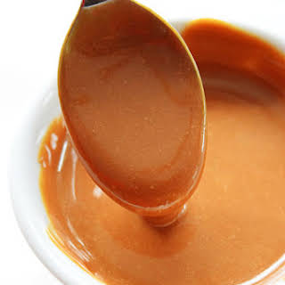 Simple Caramel Sauce.