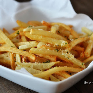 Garlic Parmesan French Fries.